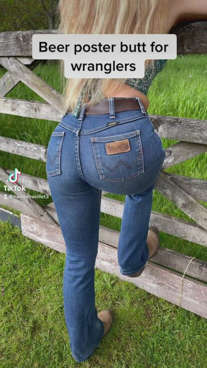 Do you like country girls in wranglers?