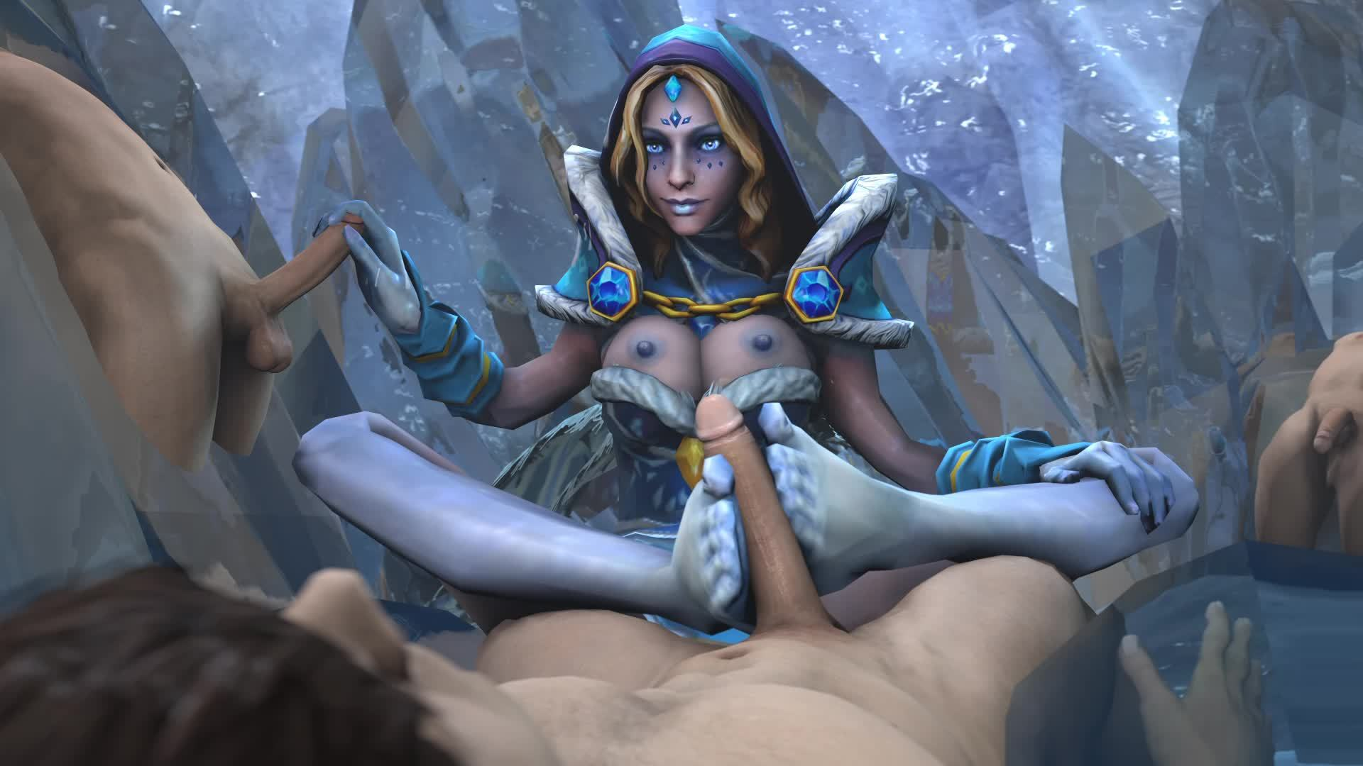 Video of dota porn sexy film