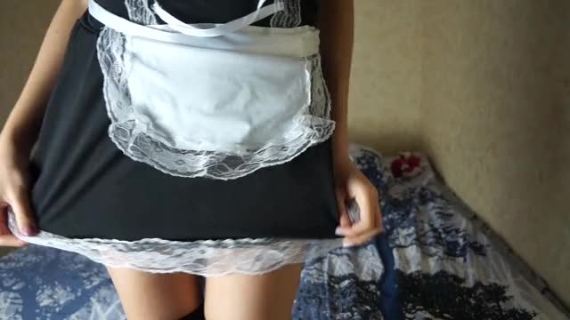 just gif from my recent movie scene. Want to play with hawt maid? ;)