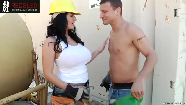 She gives me a different kind of hard hat