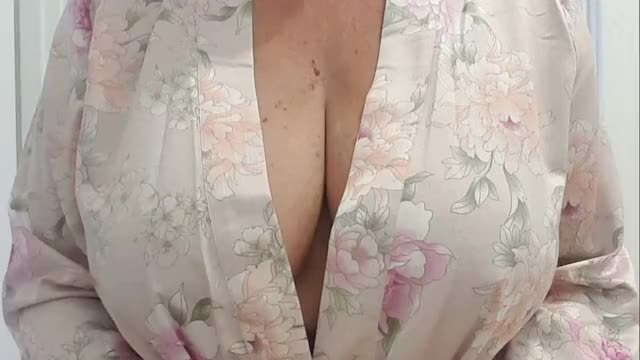 what do u think of my newly pierced nipples?  xx 55yo