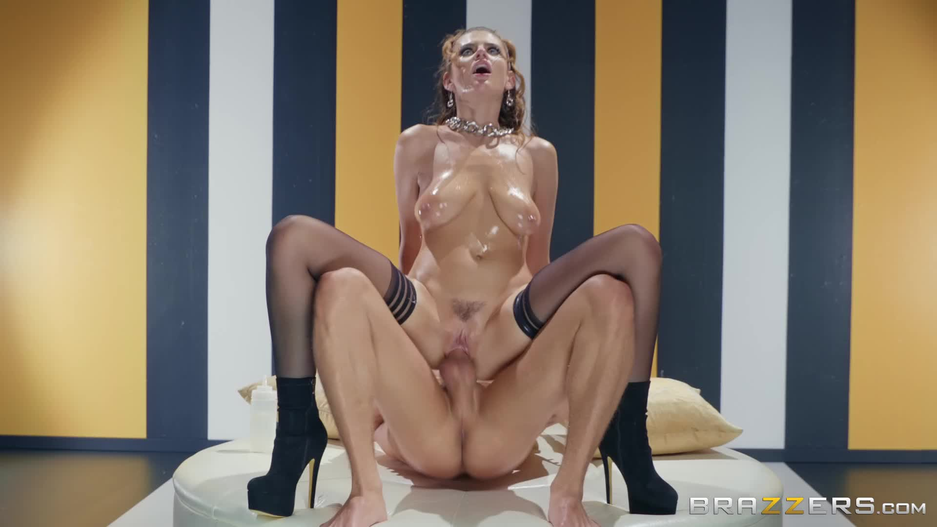 Oiled and fucked