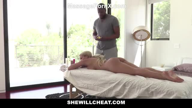Latina wife cheat her husband with masseur interracial massage sex - Massage Porn