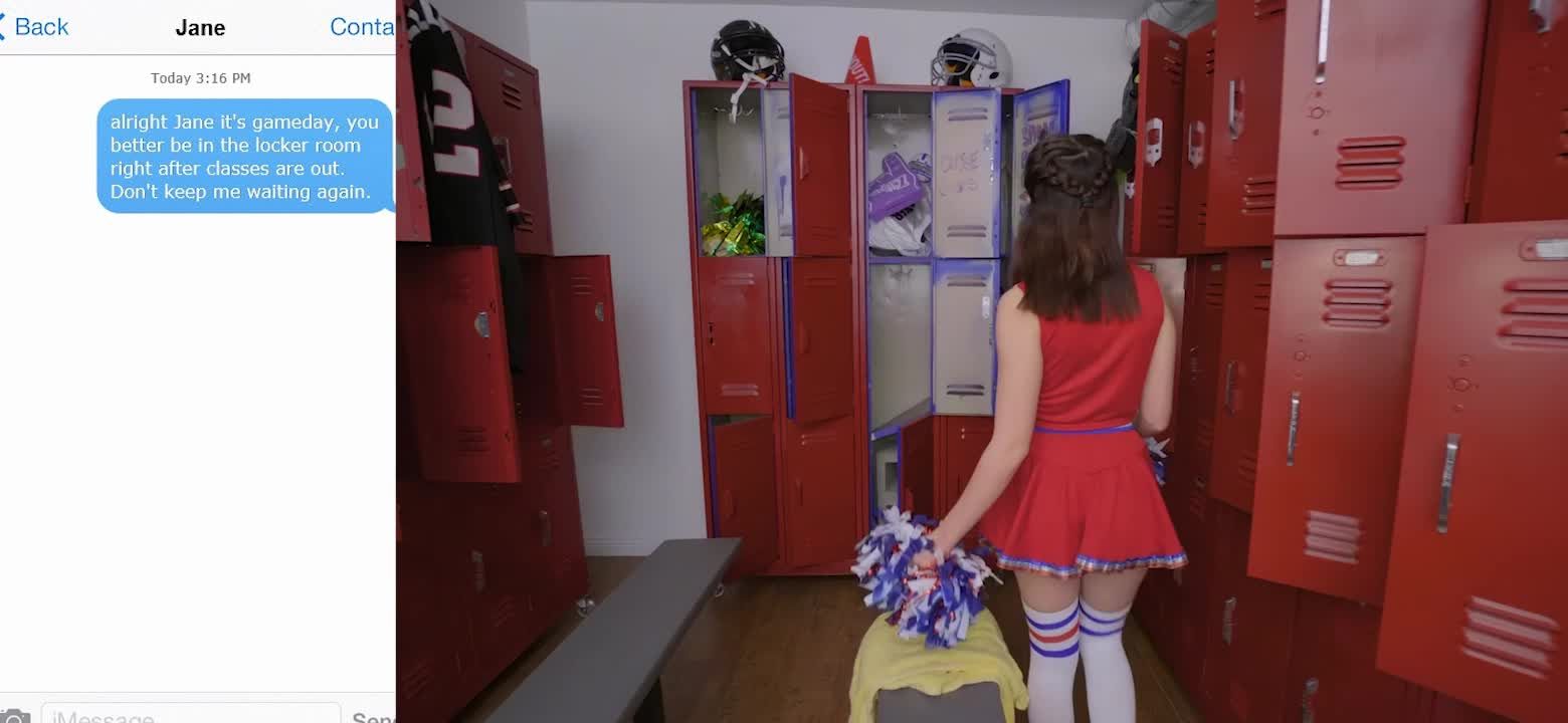 Jane is in for a very long and punishing cheerleading season
