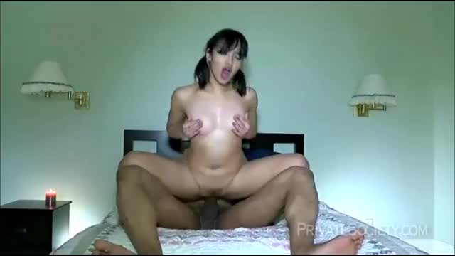 very Sexy Amateur Oriental fucked in one as well as the other holes by a Huge BBC 2020 HD