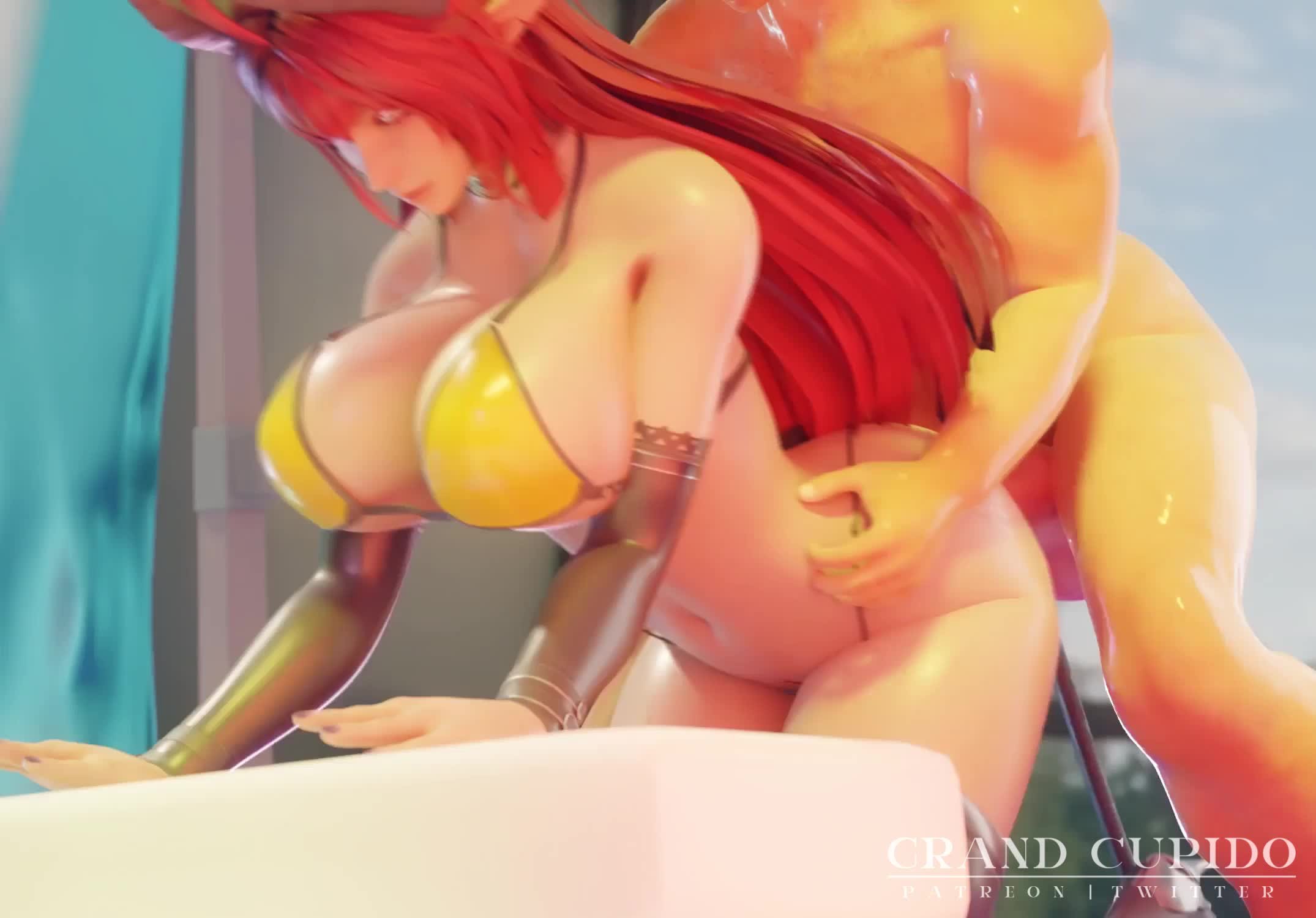 Long & Deep Anal Sex With Succubus