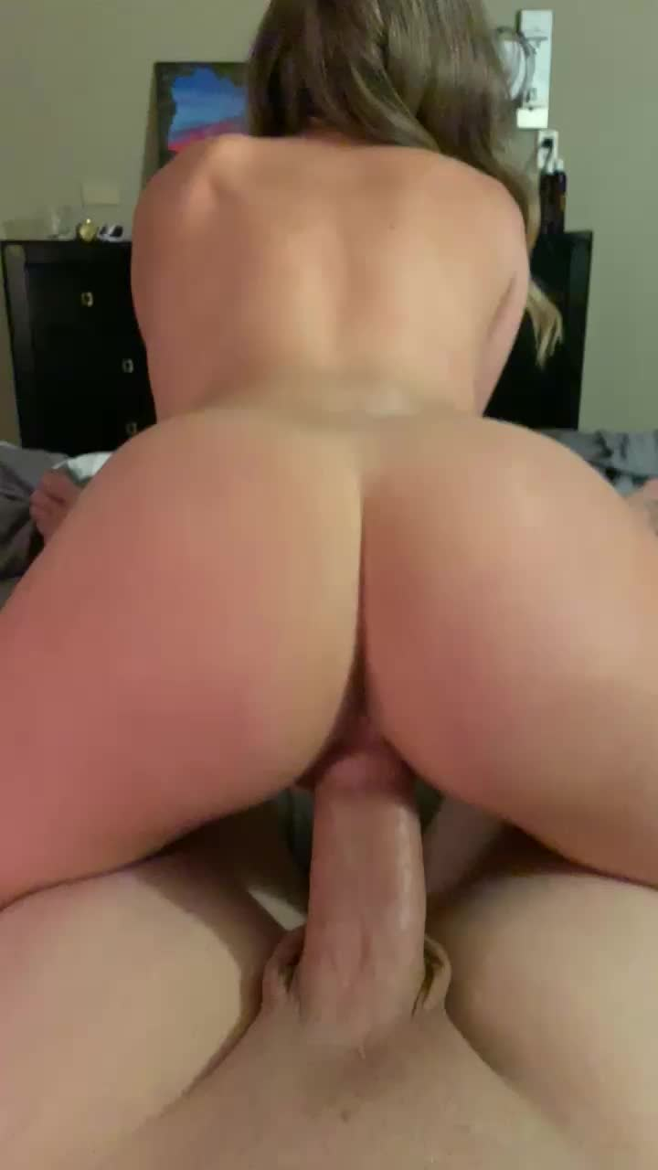 My girl riding her fuck buddies cock