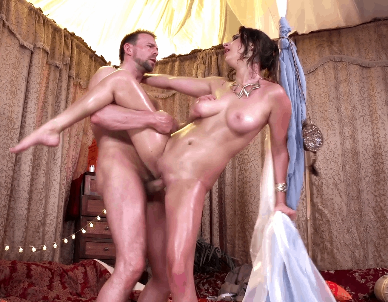 image Squirt fuck standing up