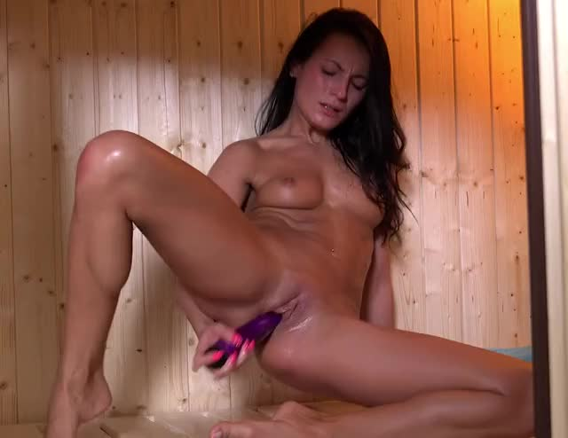 making Herself Cum