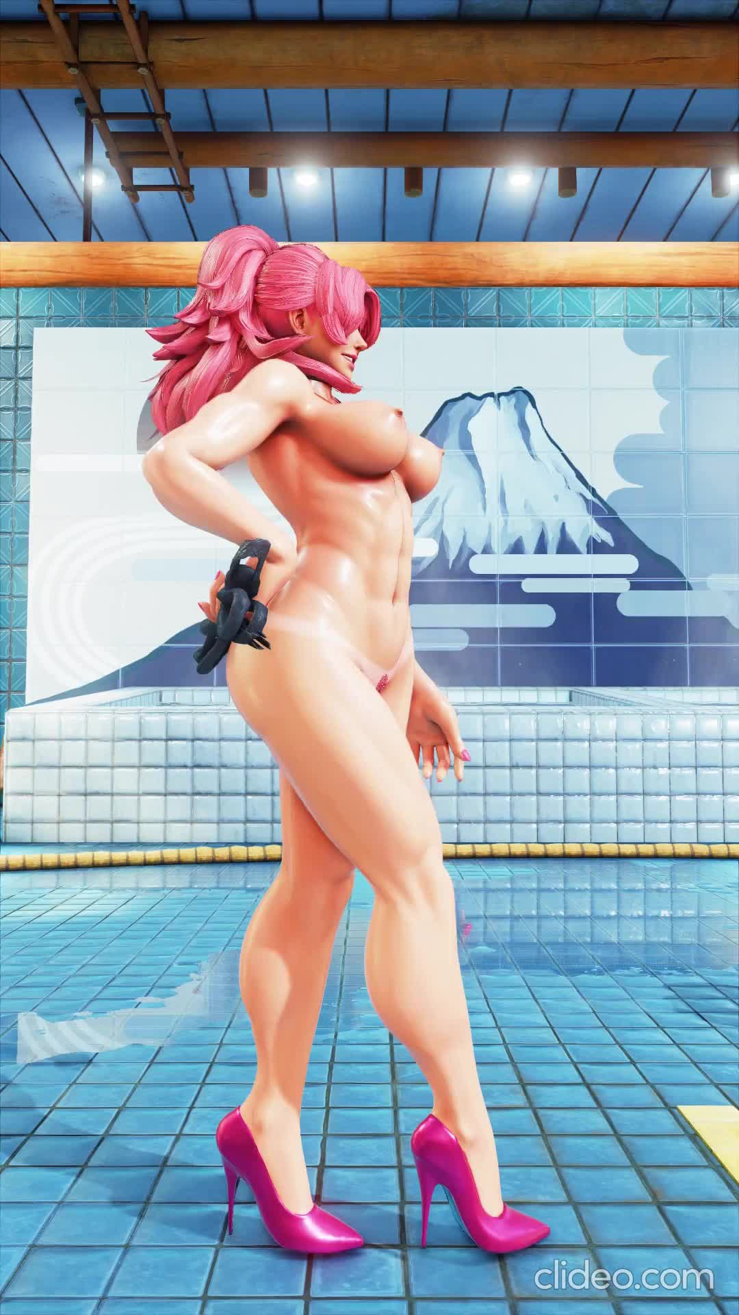 Poison has some beautiful abs