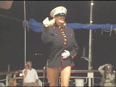 Captain dusty is on the deck! All hands on dick!