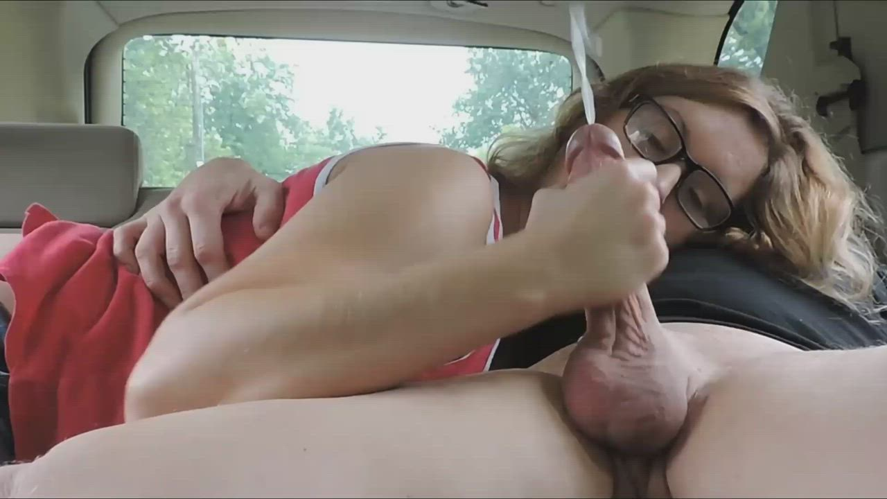 Absolutely drenched in cum