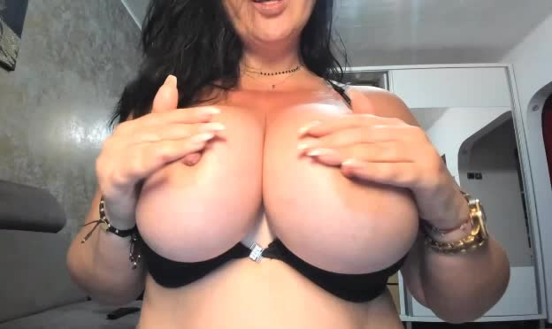 Milf with amazing boobs