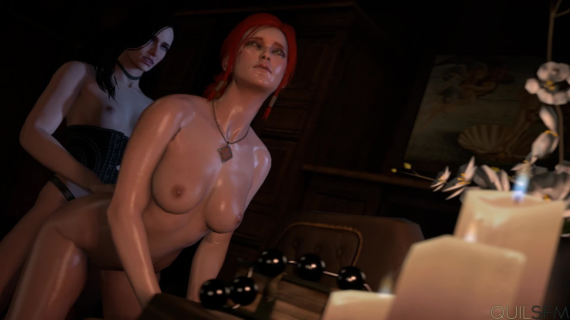 The witcher 3 sex gif erotic video
