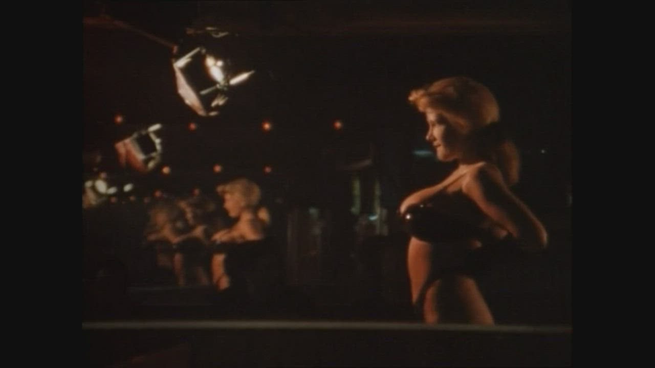 "[Unidentified Star] Busty stripper in the '94 movie ""L.A. Wars"""
