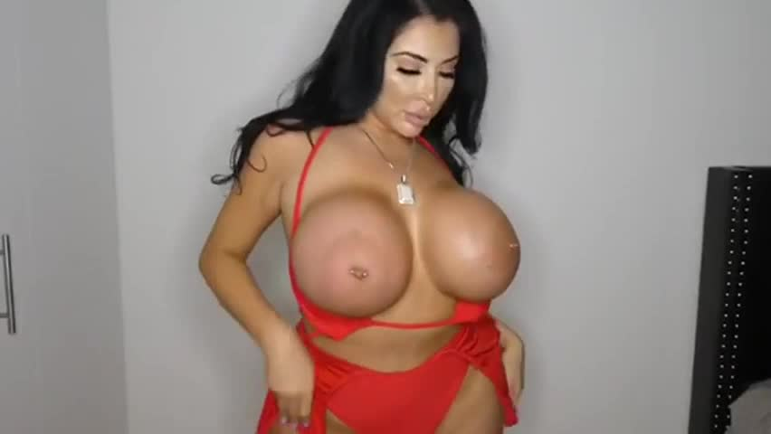 Not just fake tits, but a fake ass-well