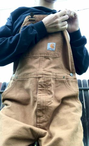 do you like what i'm hiding underneath these overalls?