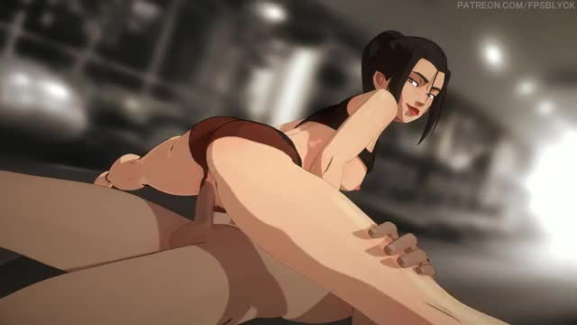 azula getting maximum leverage