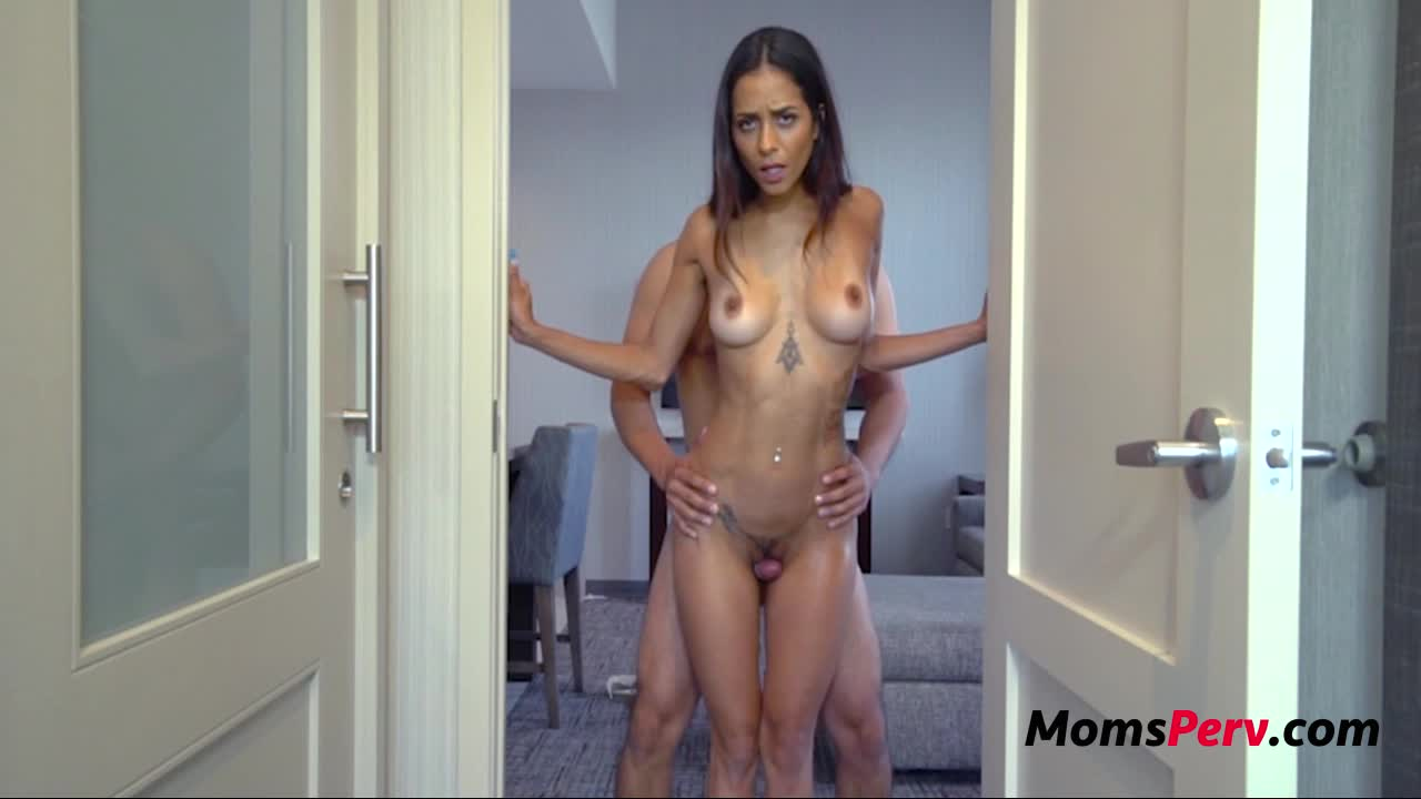 Sexy ass latina mom pleases her son