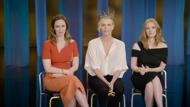 Watch Emily Blunt, Charlize Theron and Jessica Chastain GIF by @achaewa on Gfycat. Discover more Charlize Theron, Emily Blunt, Jessica Chastain GIFs on Gfycat