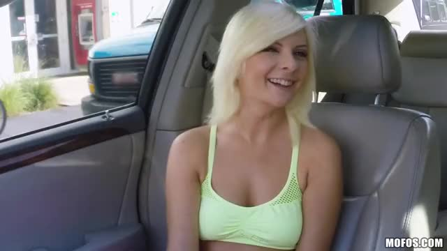 Backseat blondie beef curtains