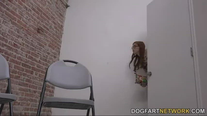 Hot Glory Hole Action with Penny Pax and Maddy O'reilly Threesome