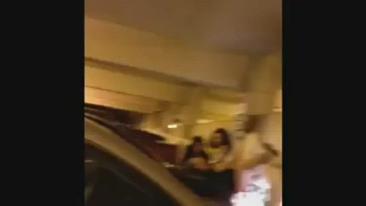 On The Hood of a Car with Audience After Rap Concert