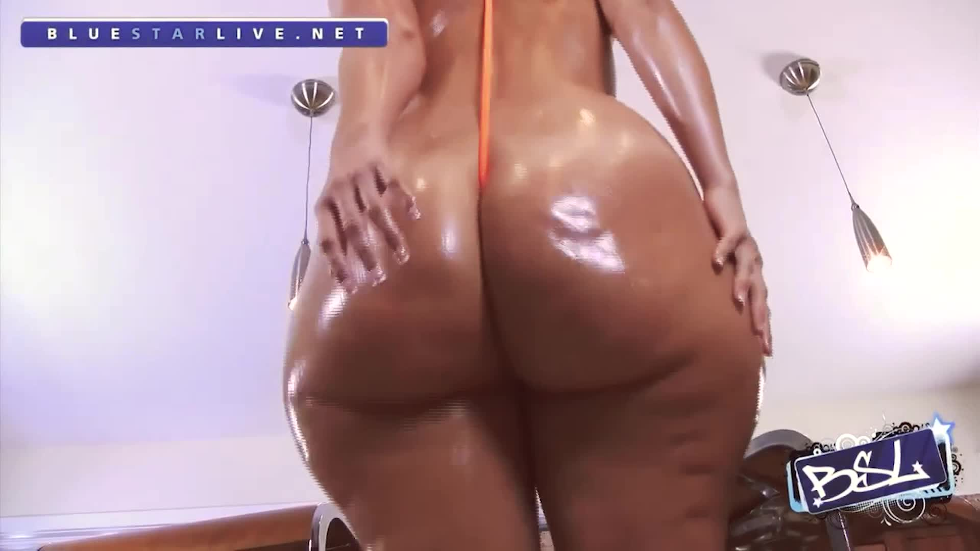 Rosee Divine Thick Oiled Booty Porn GIF by bigbrotherisback | RedGIFs