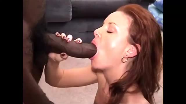 stunning sexy Redhead Wife fuck with a Huge afro Knob HD