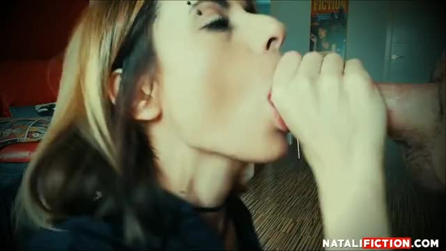 Creampie Oral Blowjob, I Suck his Cock, he Cums inside my mouth two times