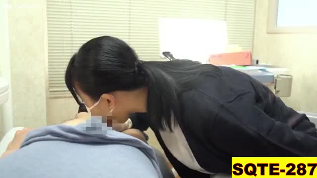 breasty dentist Ruka Inaba sucks and bonks her patient