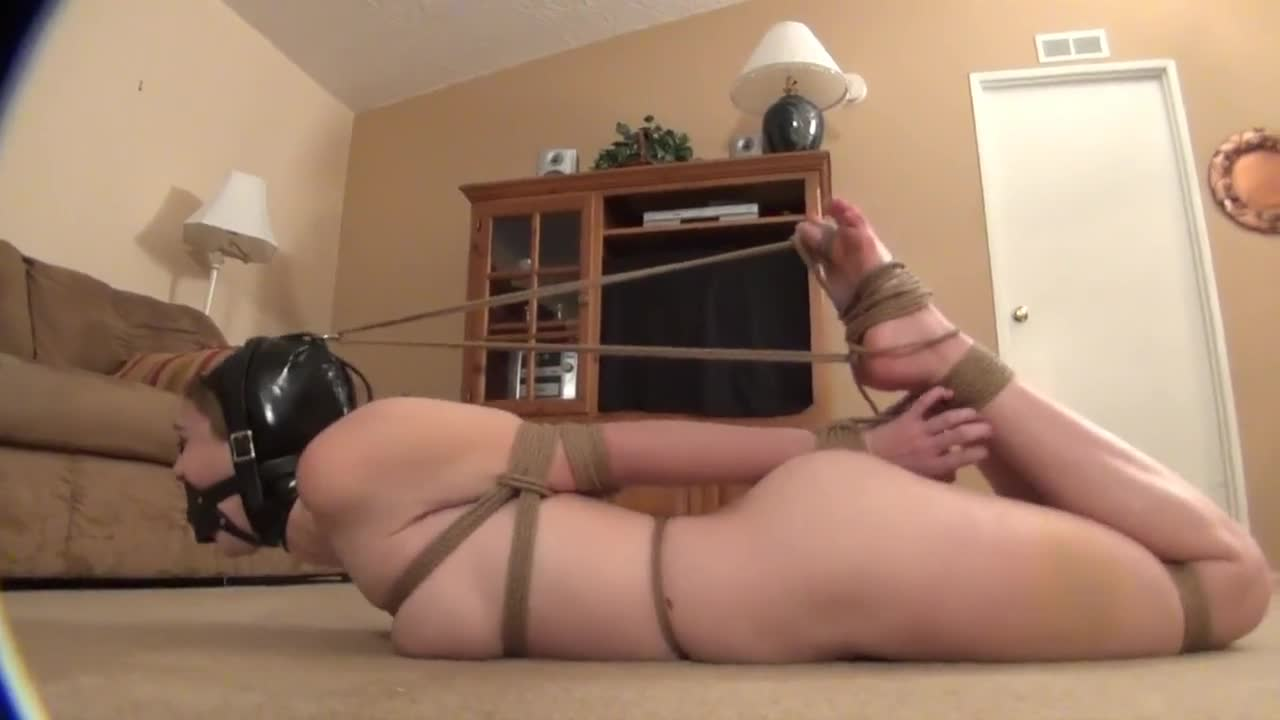 The tightest hogtie ever