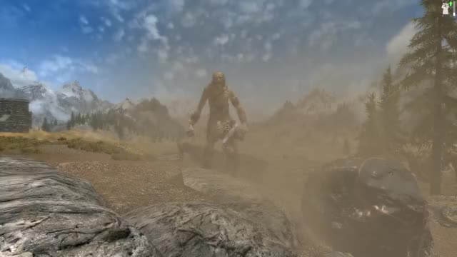 Watch this skyrim GIF by Drag0nStar (@drag0nstar) on Gfycat. Discover more brandi, elder scrolls v, giant, skyrim, tesv, tex5 GIFs on Gfycat