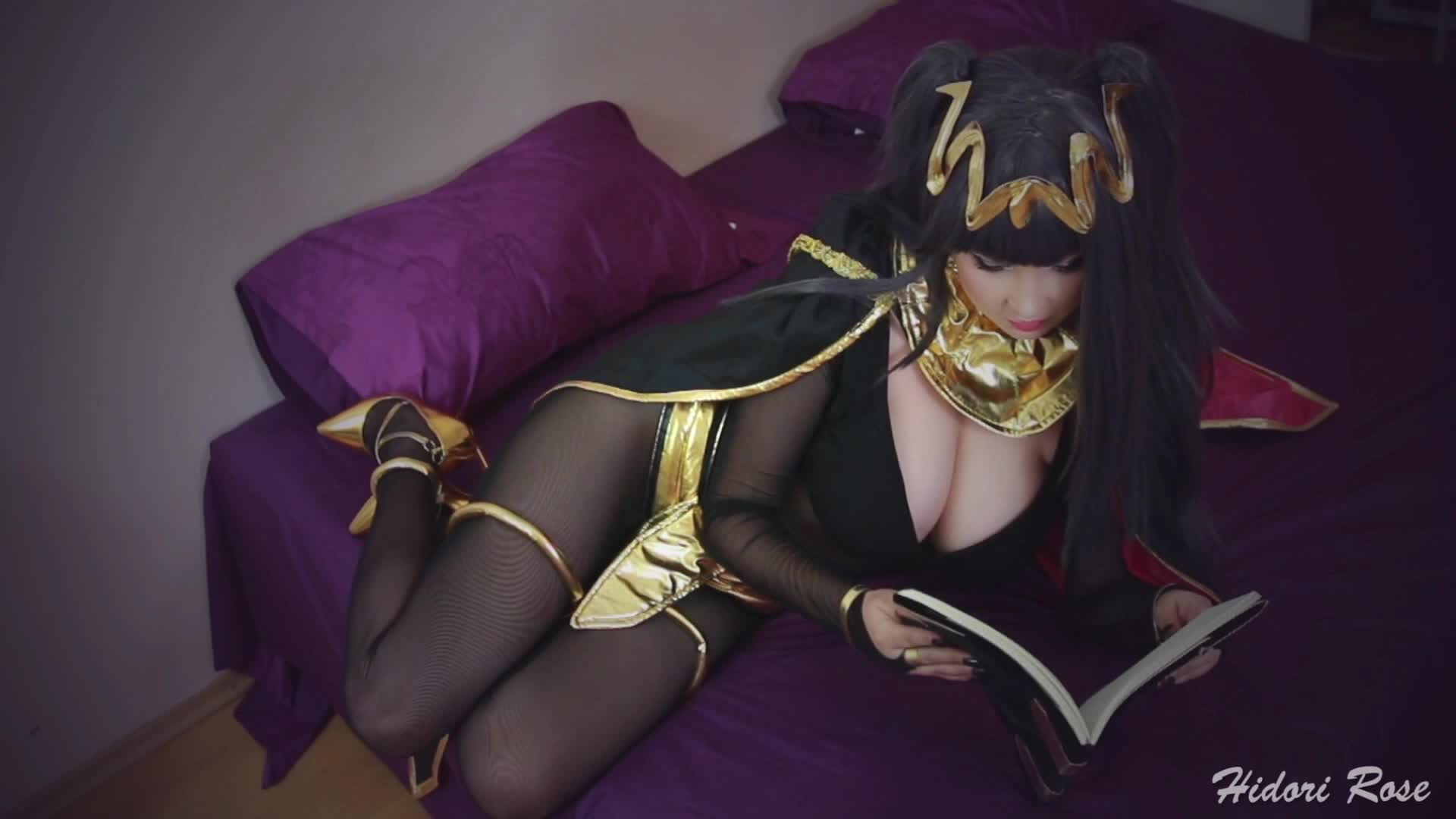 Tharja from Fire Emblem and the dragon cock