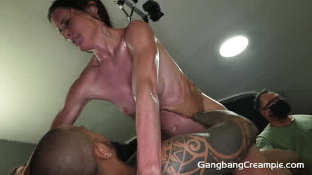 Sofie Marie absolutely drenched