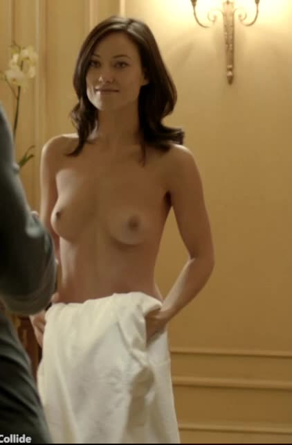 Love Olivia Wilde perky little tits NSFW VIDEO