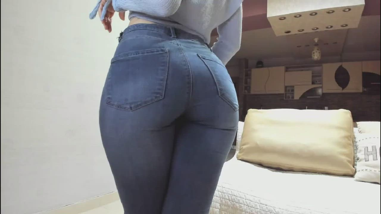 Ass In Jeans Is Always Amazing...