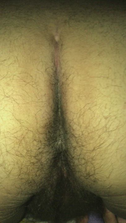 Shaking my hairy ass