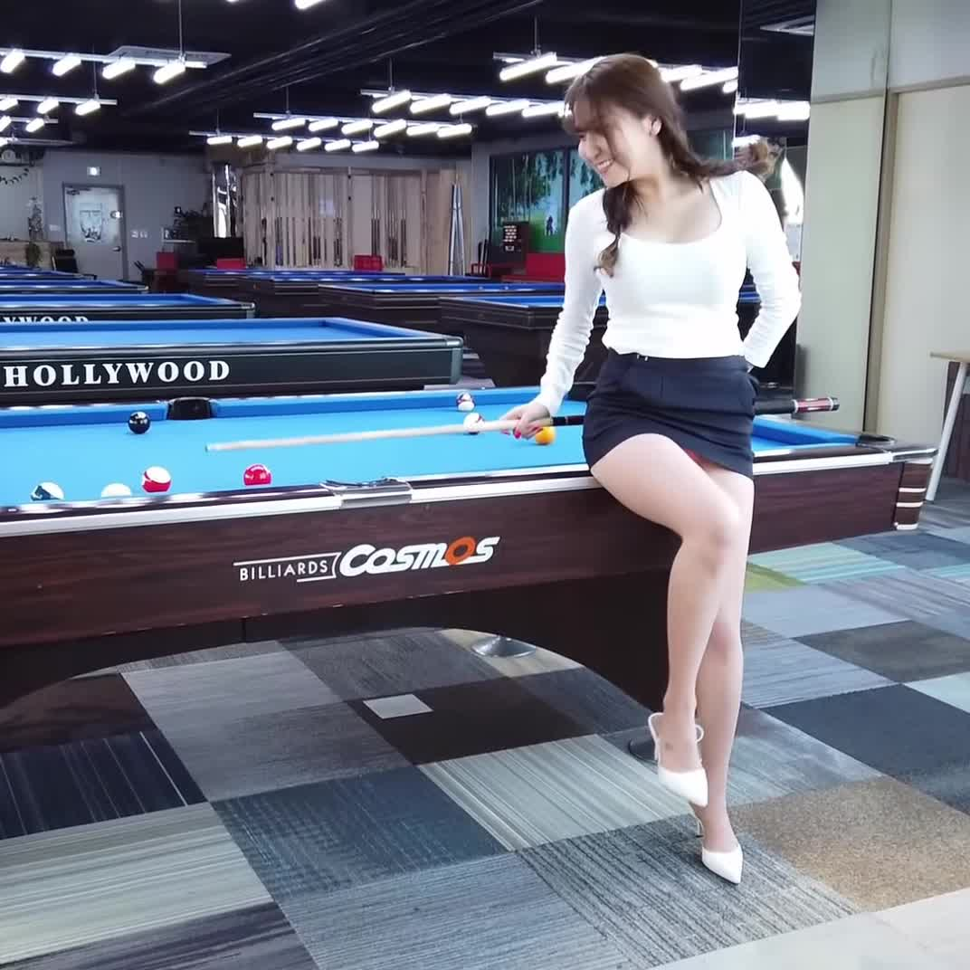 Got To Go To Korea To Shoot Pool