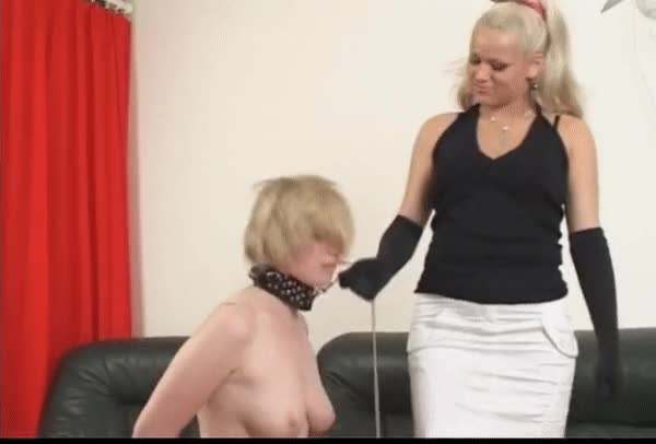 blond Compulsory To Take up with the tongue Female-dominator Rectal hole And To Take Ding-dong Up Her Butt