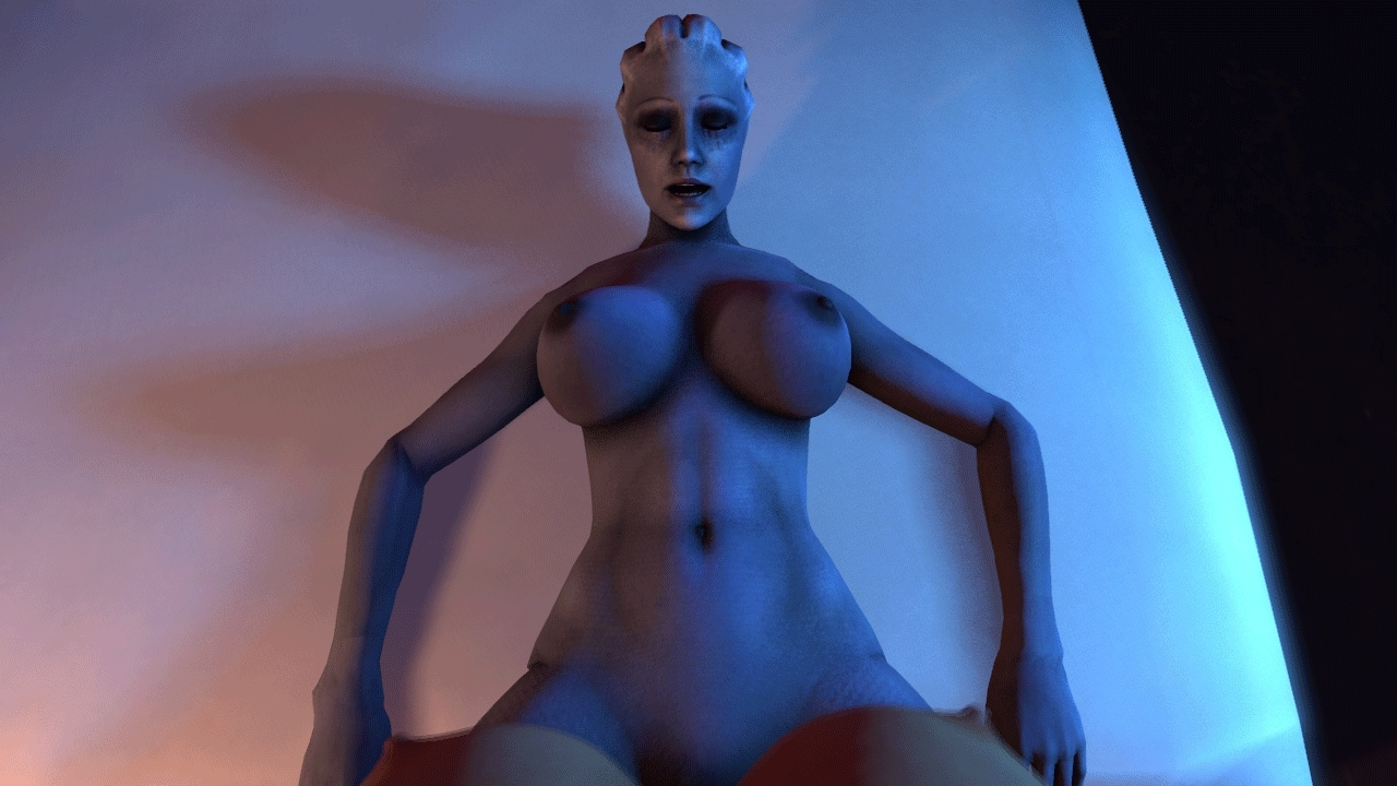 POV of Jane and Liara trying out the new toy [LTR300]