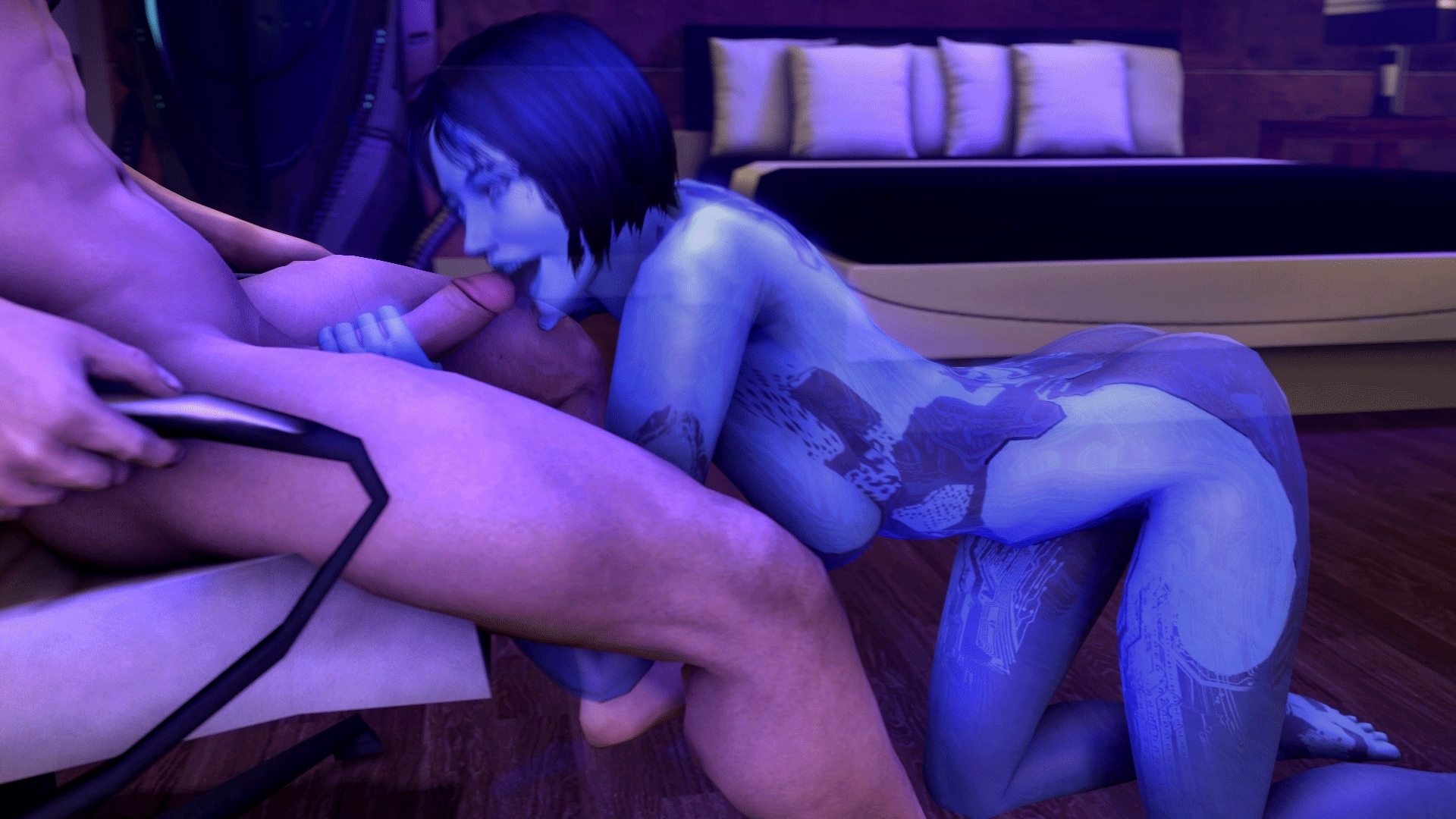 Cortana animated porn sex pic