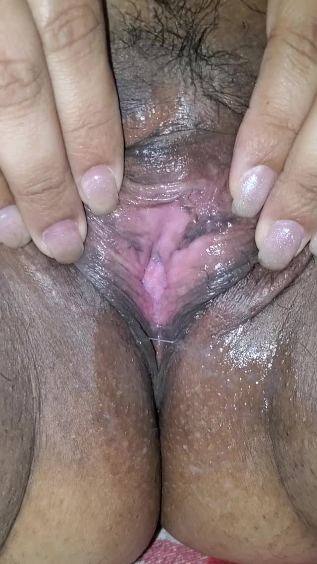 wife creaming after I ate it f34