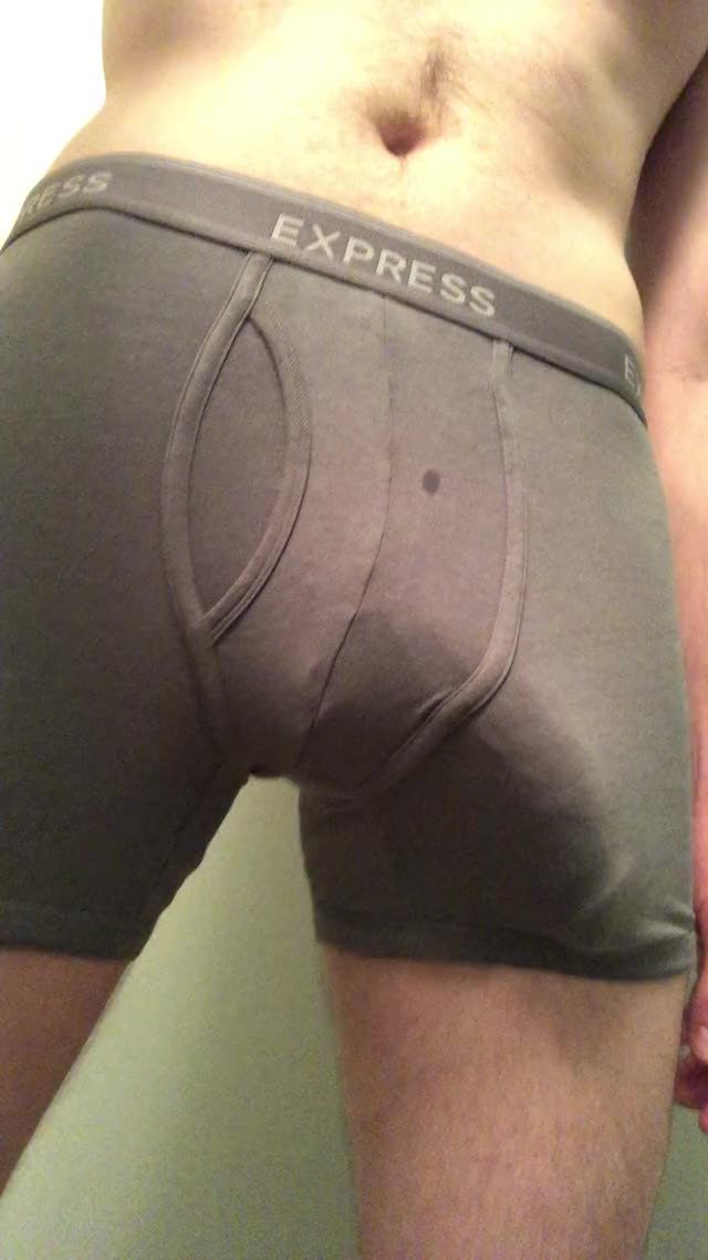 bulging in my boxer briefs