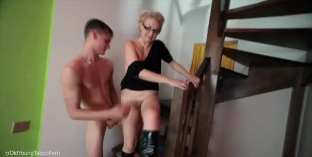 Fucked mother and filled her with sperm 1