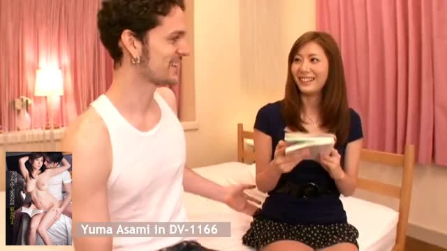 yuma Asami copulates a white guy