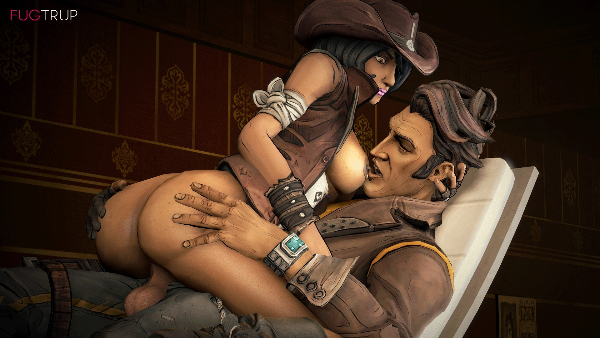 Borderlands xxx blowjob hentay movie