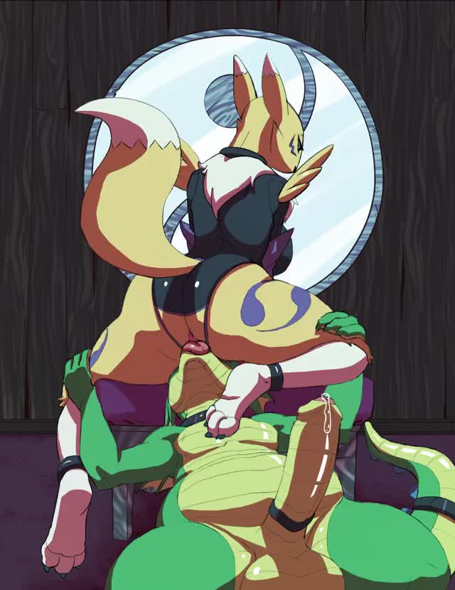 always Let Renamon Sit On Your Face.