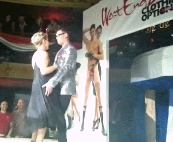 Sheridan Smith - British Actress - Half Naked and Embarrassed on Stage