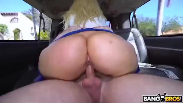 Fucking a PAWG in a car